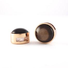 soft tone shiny dark brown