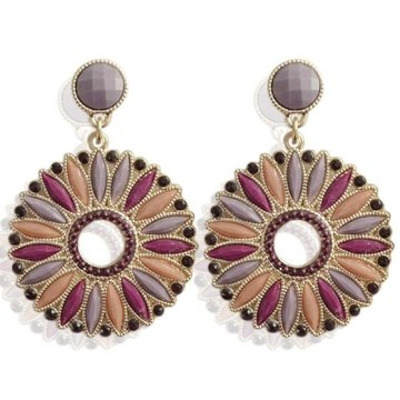 Earrings Noli -purple-