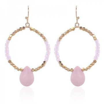 Earrings Rickie -pink-