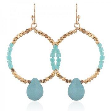 Earring Lili -turquoise-