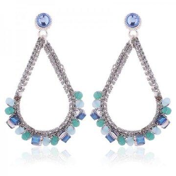 Earring Jenny -blue-