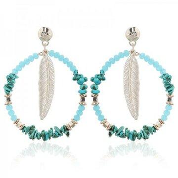 Earring Liza -turquoise-