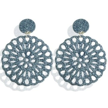 Earrings Shine -blue-