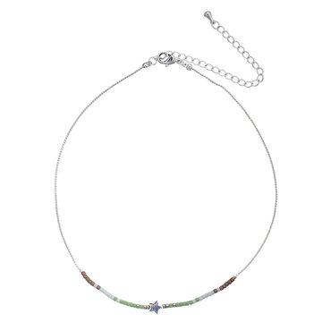 Ketting Choker Beads Star