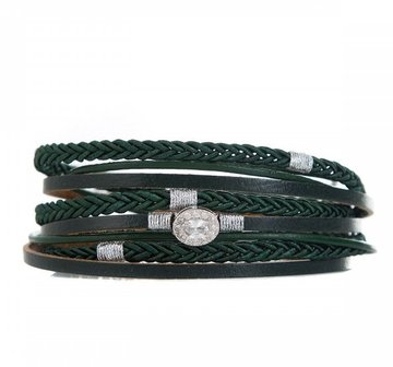 Armband long green
