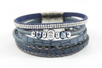 Armbanden set donkerblauw