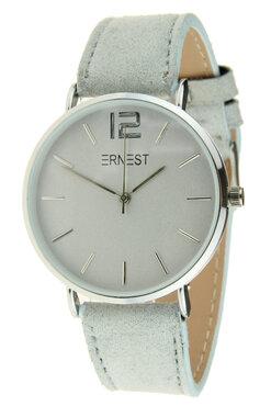 Ernest horloge zilver licht grijs