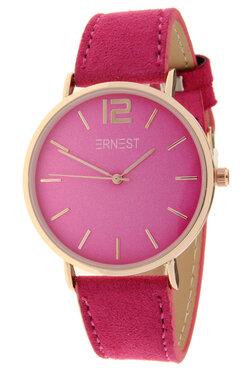 Ernest horloge rosé fuchia