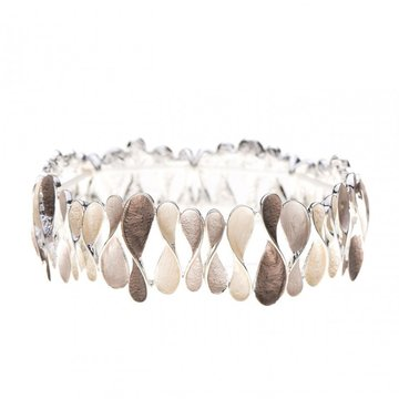 Luxe armband fantasie taupe