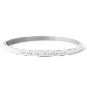 Stainless steel armband YOU ARE ONE IN A MILLION