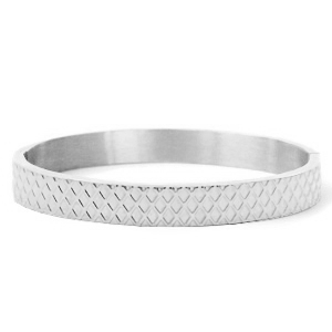 Stainless steel armband ruit