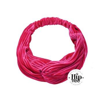 haarband velvet fuchsia