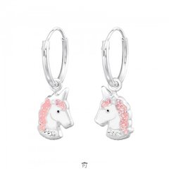 Zilveren kinder oorbellen