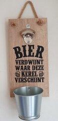 Houten fles wandopeners