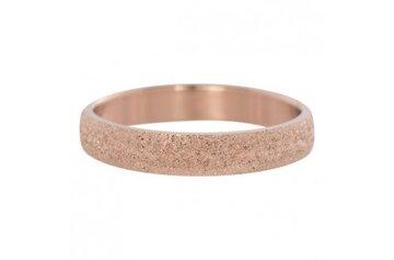 Roze ring 4mm zilver