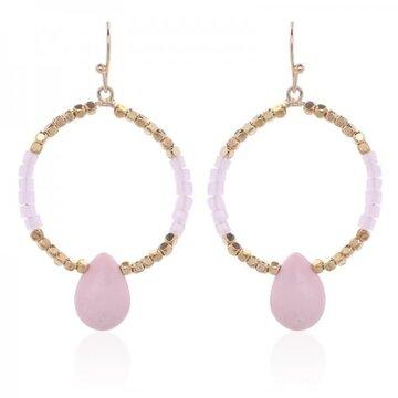 Earrings Rickie -pink-