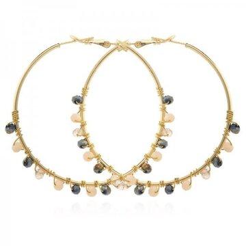 Earrings Gypsy -Pink-