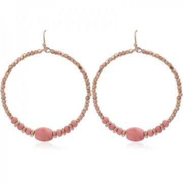 Earring Livia -pink-