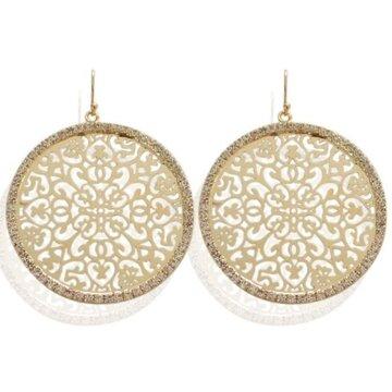 Earring Xara -white-