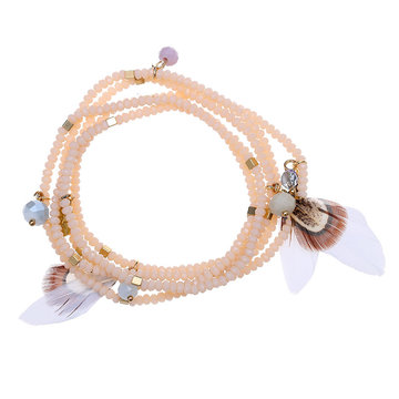 Armband Glamour Feather
