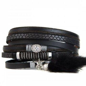 Armband lovely zwart