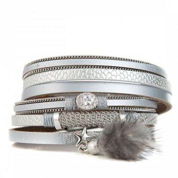 Armband lovely zilver