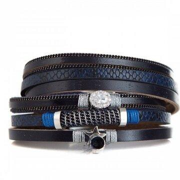 Armband lovely donker blauw