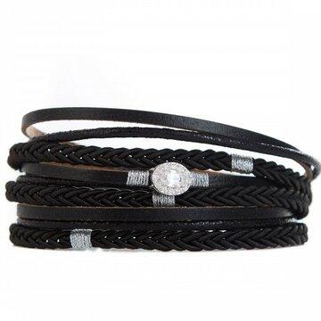 Armband long black