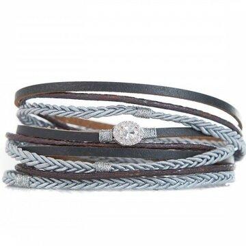 Armband long grey