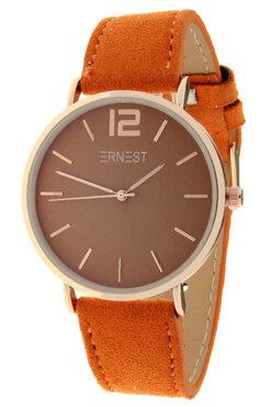 Ernest horloge rosé oranje