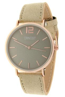 Ernest horloge rosé beige