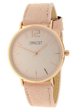 Ernest horloge rosé licht roze