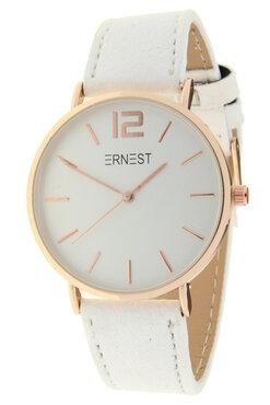 Ernest horloge rosé wit