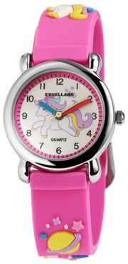 Kinder horloge unicorn roze
