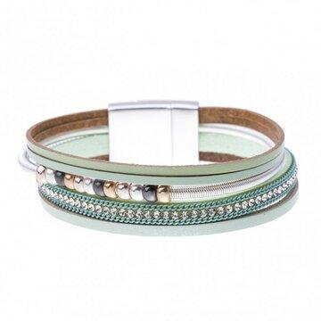 Mix & Match armband spiraal sparkling