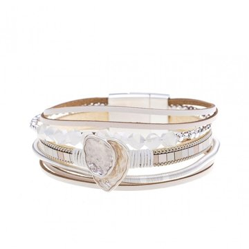 Armband beautiful beige