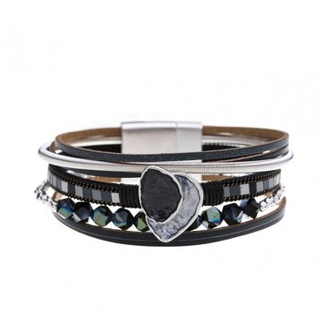 Armband beautiful zwart