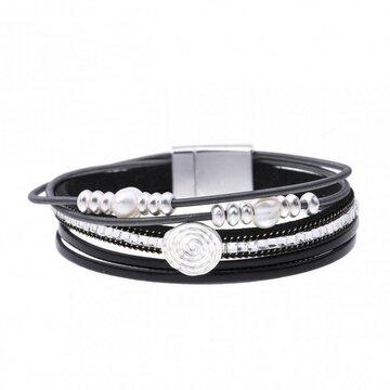 Armband pearl zwart