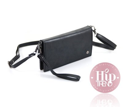 Zwarte portemonnee / tasje