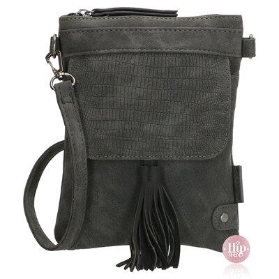 NIEUW Heup/ schoudertasje zwart
