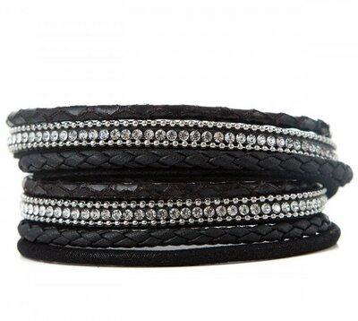 Armband shine black