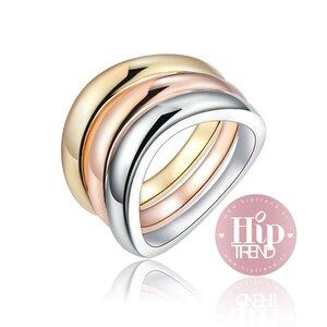 3 kleuren ringen set