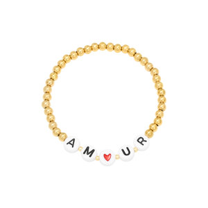 Armband stainless steel amour